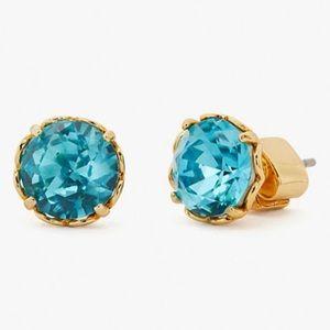 🆕Kate Spade That Sparkle Aquamarine Stud Earrings